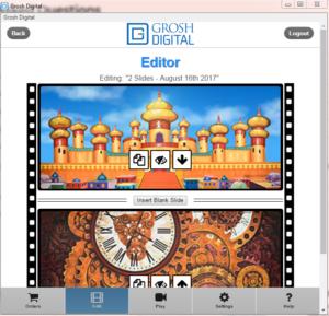 Grosh Digital App Editor Screenshot