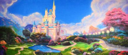 Castles Backdrop Projections