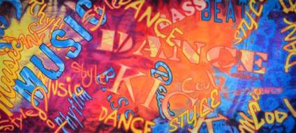 Dance Backdrop Projections