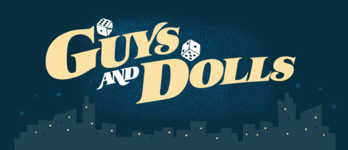 Guys and Dolls Show Package Projected Backdrop for Guys and Dolls