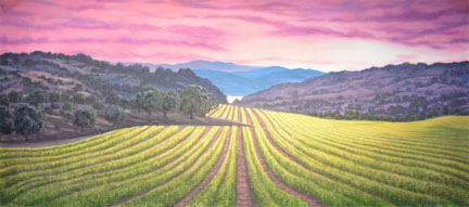 Landscapes Backdrop Projections