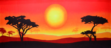 Lion King Backdrop Projections