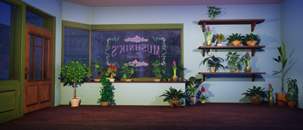 Little Shop of Horrors Backdrop Projections