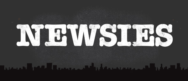 Newsies Show Package Projected Backdrop for Newsies