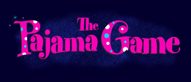 Pajama Game Show Package Projected Backdrop for Pajama Game, Show Curtains