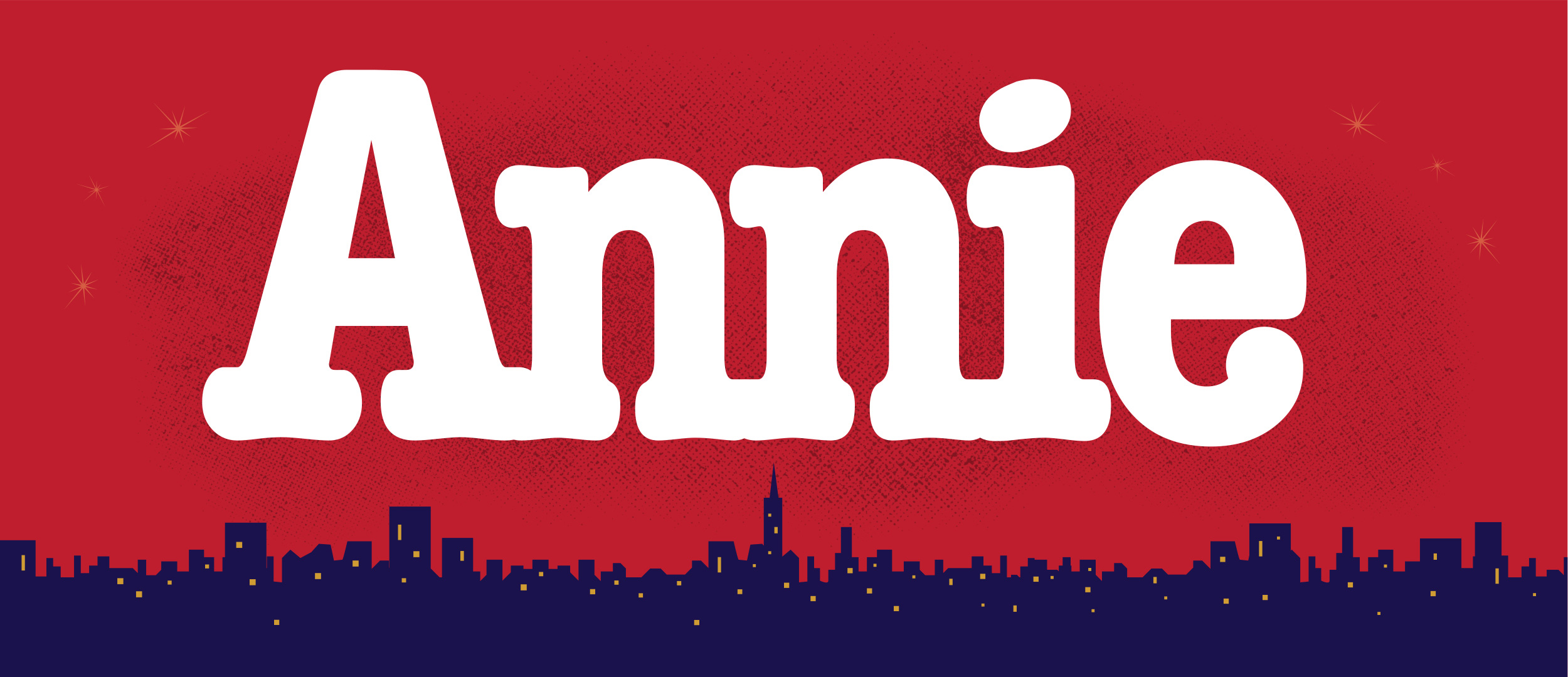 Annie Projected Backdrop for Annie, Show