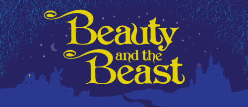 Beauty and the Beast Show Package Projected Backdrop for Beauty and the Beast