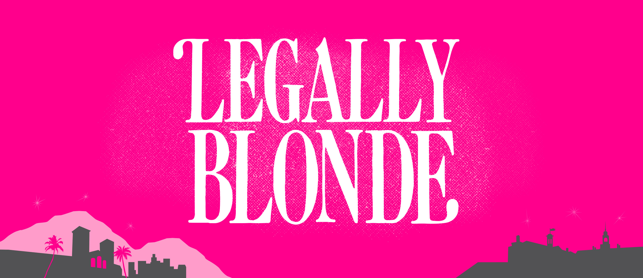 Legally Blond Show Package Projected Backdrop for Legally Blonde