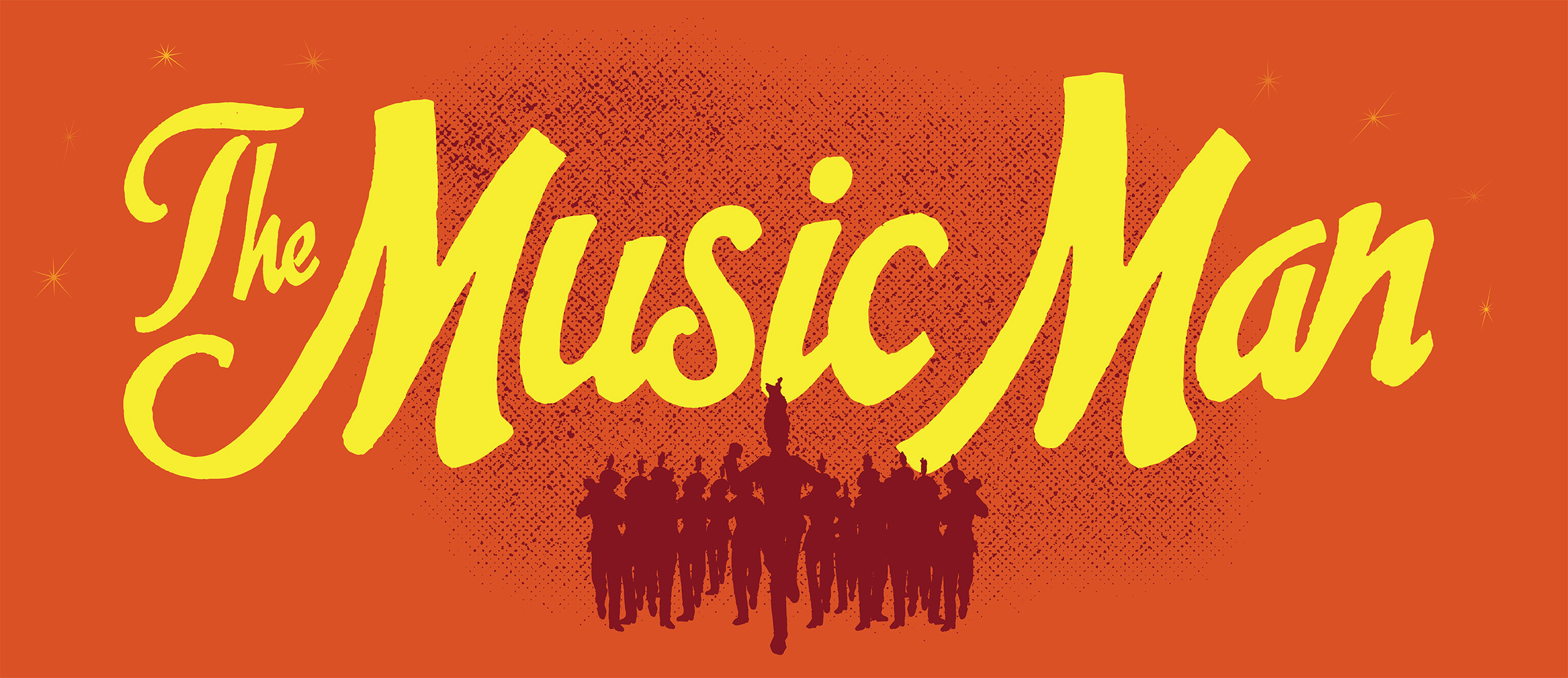 The Music Man Show Package Projected Backdrop for Music Man, Show