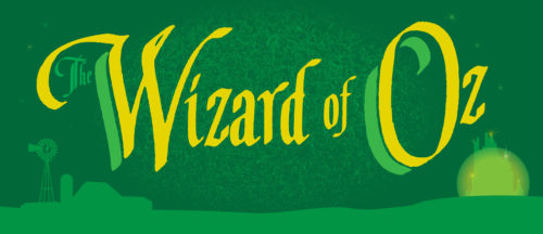 Wizard of Oz Show Package 2 Projected Backdrop for Wizard of Oz