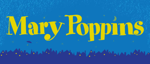 Mary Poppins Show Package Projected Backdrop for Mary Poppins