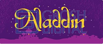 Aladdin Show Package Projected Backdrop for Aladdin