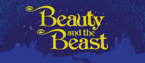 Beauty and the Beast Projected Backdrop