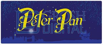 Peter Pan Show Package Projected Backdrop for Peter Pan