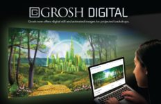 Grosh Goes Digital - Scenic Projections at Grosh Digital