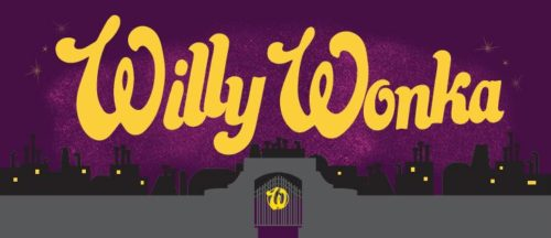 Willy Wonka Show Package Projected Backdrop for Charlie and the Chocolate Factory