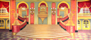 Grand Ballroom backdrop projection