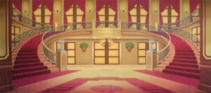 Cinderella-projected-backdrop-image