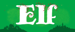 Elf the Musical Backdrop Projection