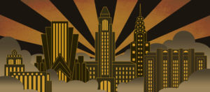 Skyline-projected-backdrop-image